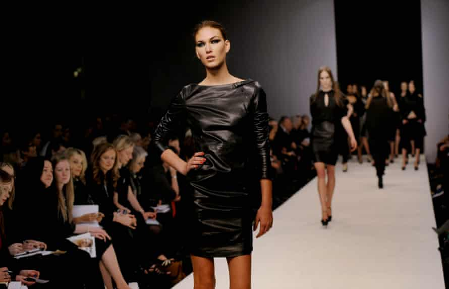 Estethica's Noir show at London fashion week in 2020
