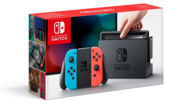 Nintendo Switch console box