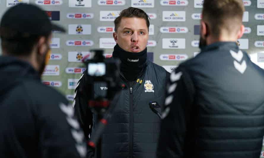 Mark Bonner is, at 35, the second-youngest manager in the top four tiers. 'Ultimately it's about talent,' he says.