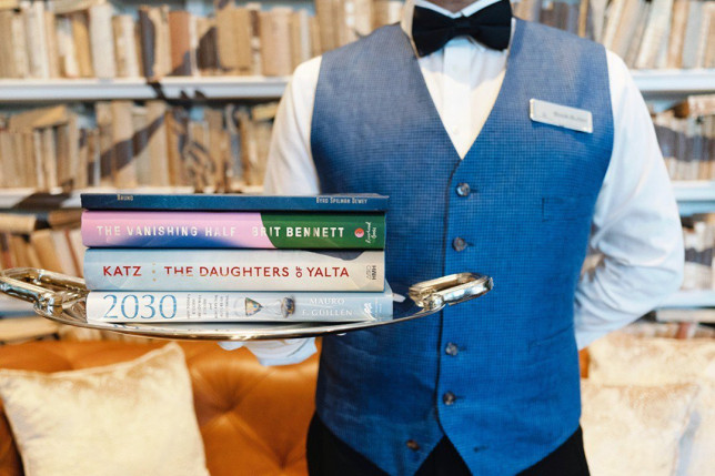 Hotel launches 'book butler' service