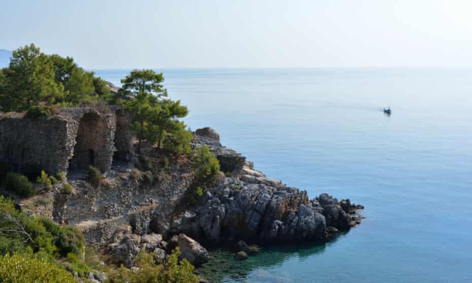 Gazipasa coves, on Turkey's Mediterranean coast.