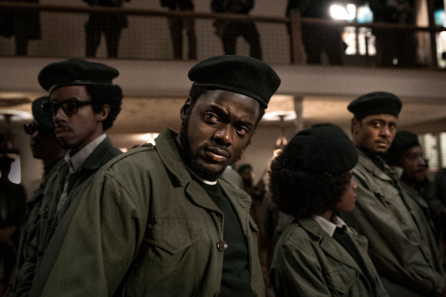 Daniel Kaluuya and LaKeith Stanfield in a scene from Judas and the Black Messiah