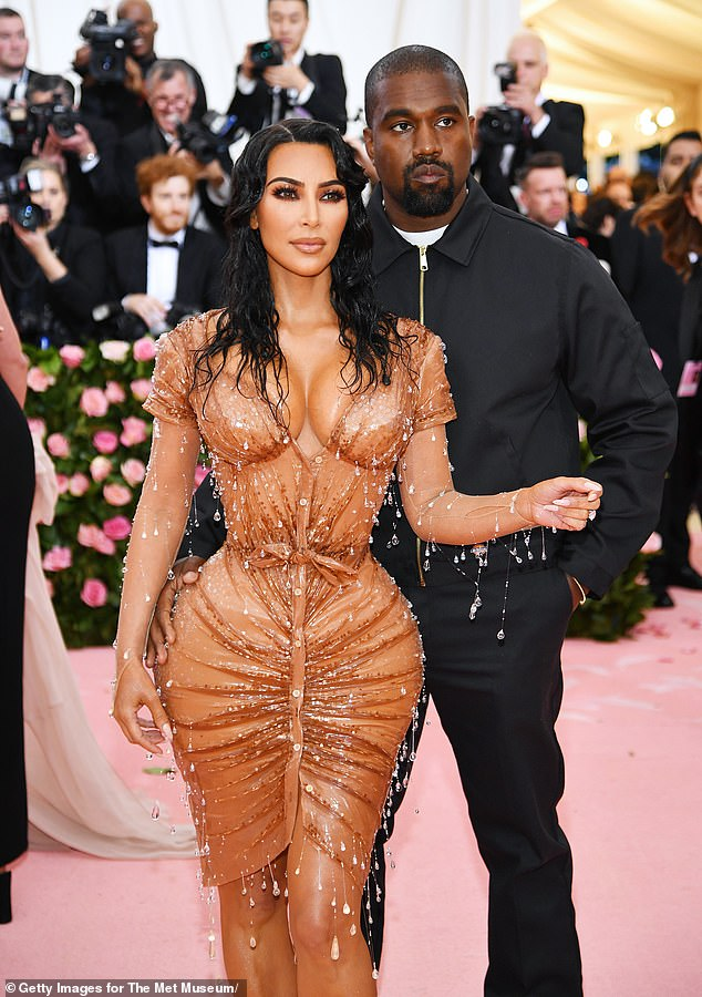 Reports:Kim Kardashian and Kanye West's divorce reportedly 'came together quickly' as the estranged couple 'basically wanted the same thing' (pictured in 2019)