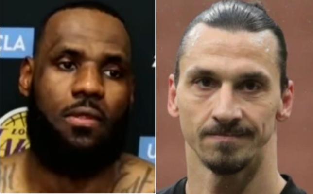 Zlatan Ibrahimovic claimed athletes like LeBron James should stay out of politics