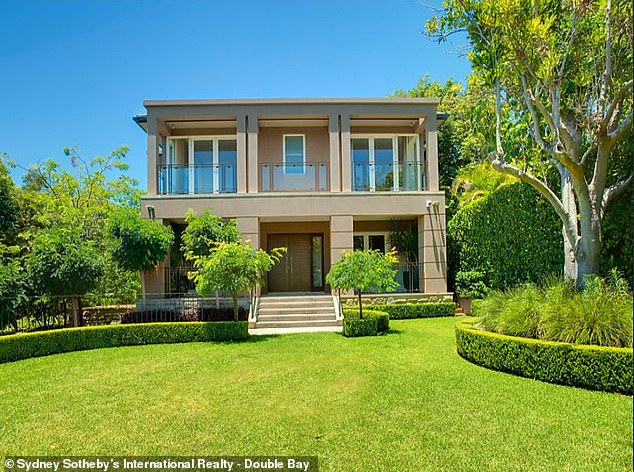 Making move:Kyly Clarke and her ex-husband Michael Clarke have sold their marital home, following their divorce. According to realestate.com.au, the mansion, located in the upmarket Sydney suburb of Vaucluse, was sold this week in a secret deal, for around $10 million