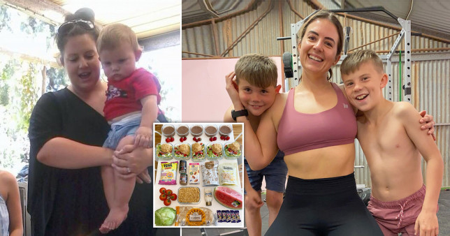Victoria before and after weight loss pictures