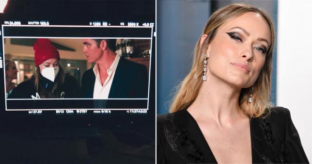 Olivia Wilde and Chris Pine
