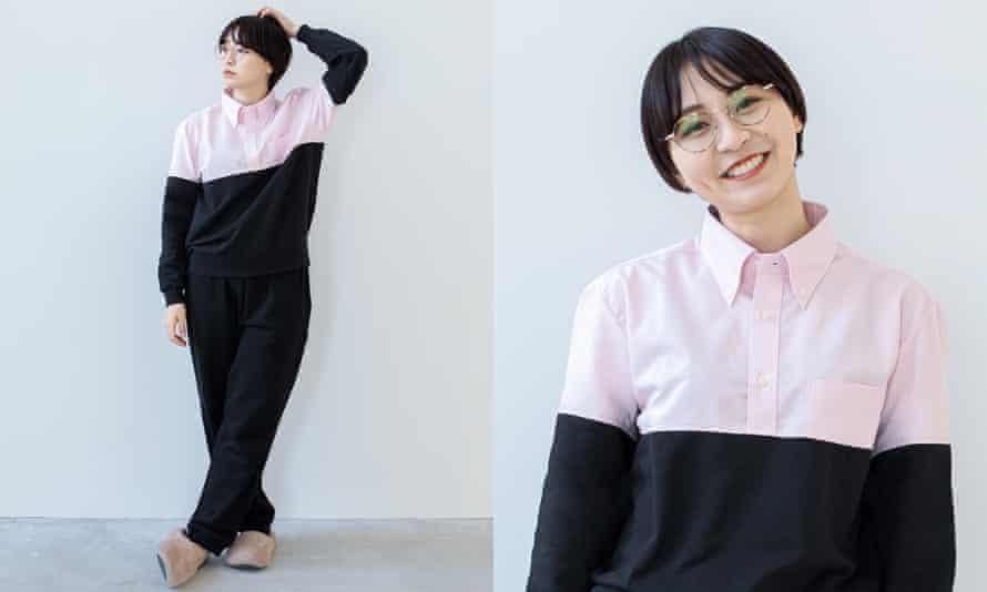 The WFH pyjama suit designed by Taichi Ito.