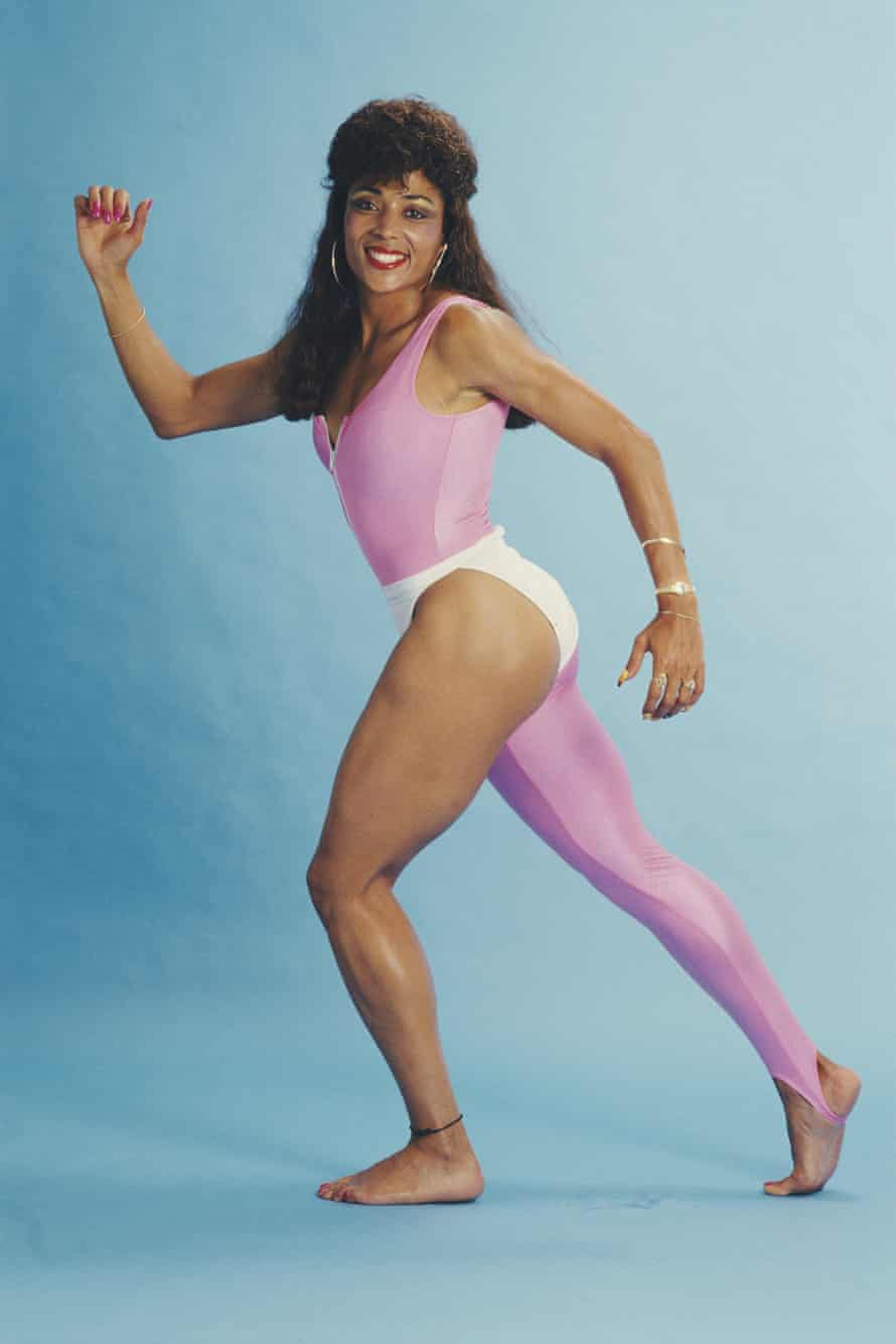 World and Olympic athletics champion Florence Griffith Joyner.