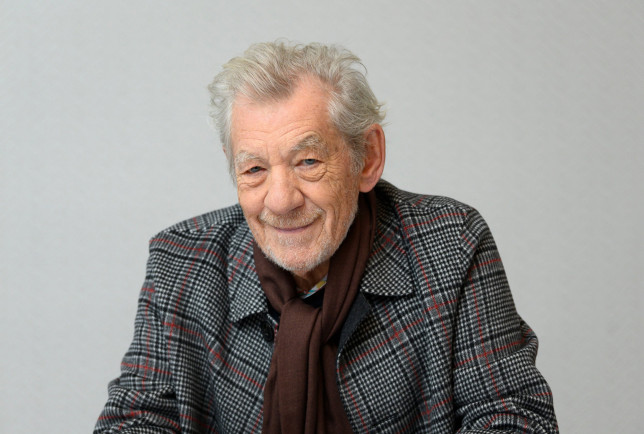VIRTUAL CABARET EVENING AT JOE ALLEN IN SUPPORT OF THE WEST END Mandatory Credit: Photo by Magnus Sundholm/REX (10465748ai) Sir Ian McKellen 'The Good Liar' film photocall, New York, USA - 04 Nov 2019