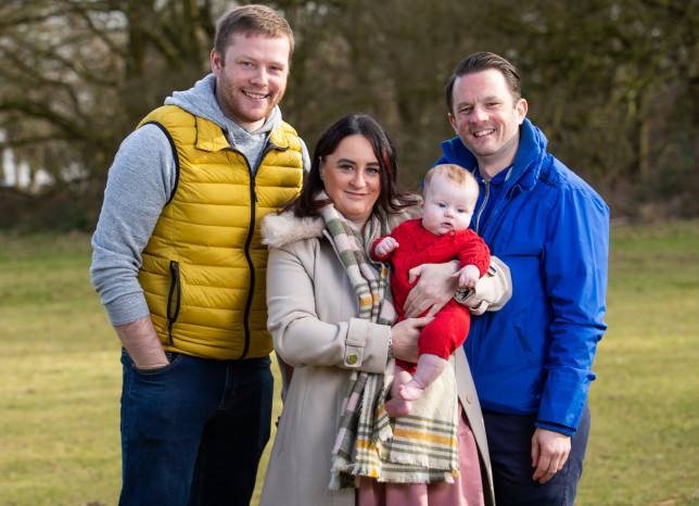 Sister carries baby for brother who spent £36,000 on IVF