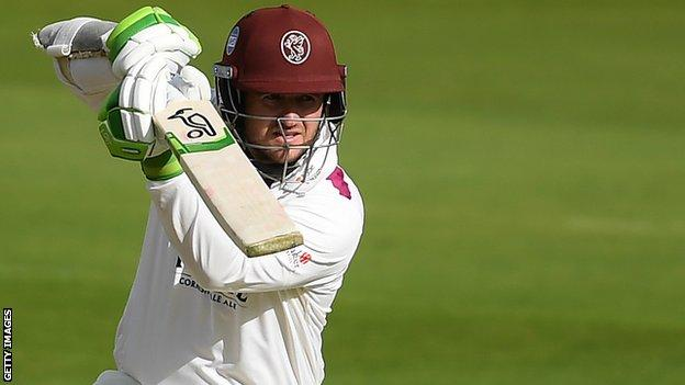 Somerset wicketkeeper-batsman Steven Davies