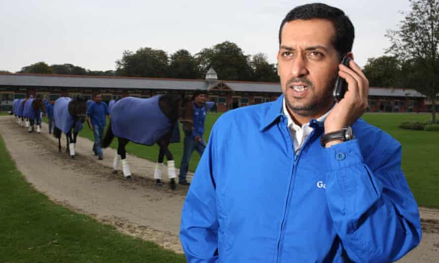 Mahmood al Zarooni at Malton Paddocks.