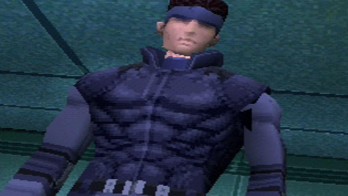 Solid Snake in Metal Gear Solid