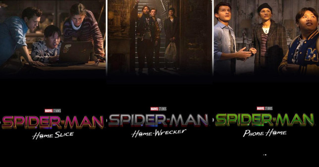 Spider-Man's Tom Holland, Zendaya and Jacob Batalon