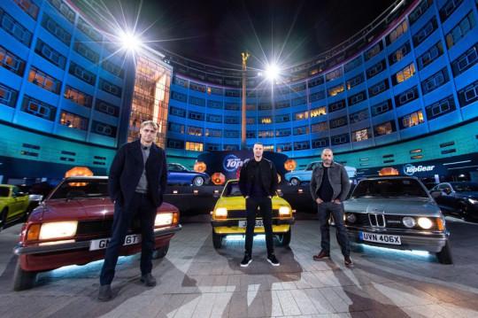 Top Gear BBC promo shot