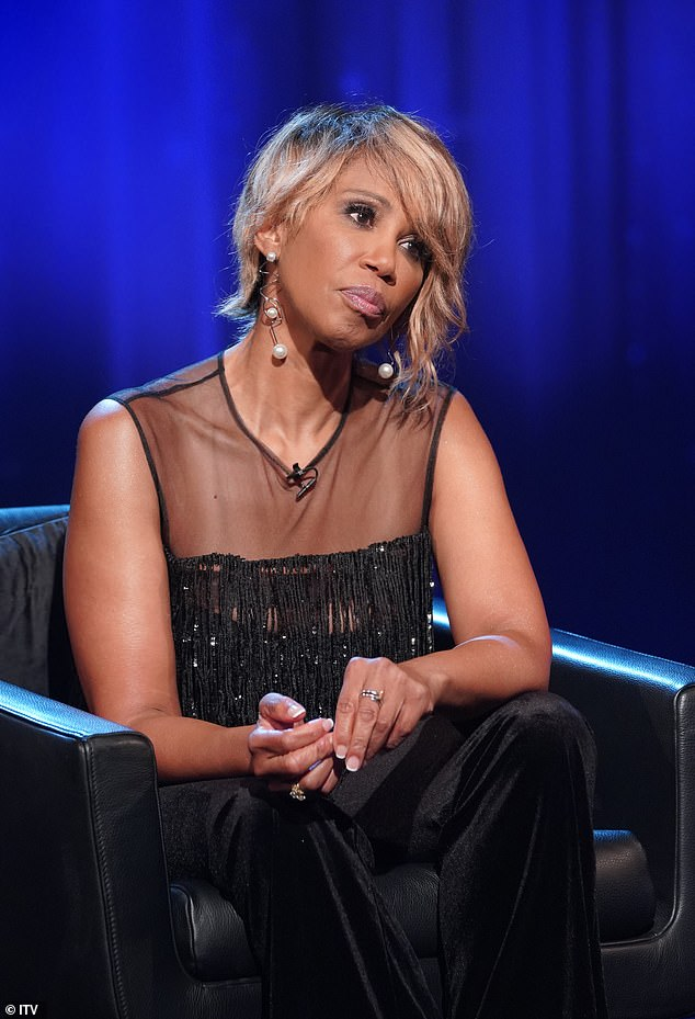 'He risked my life to hide his sexuality': Trisha Goddard said on Piers Morgan's Life Stories her gay first husband Robert had unprotected sex with her when he was knowingly HIV positive