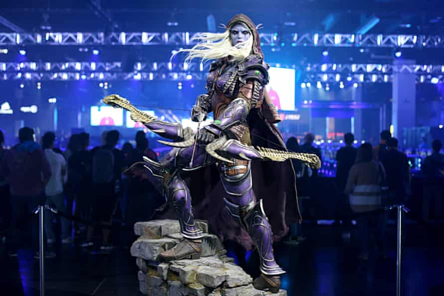 A scene from Blizzcon 2019, the last in-person fan convention that the developer was able to hold.