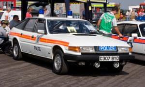 Rover police car