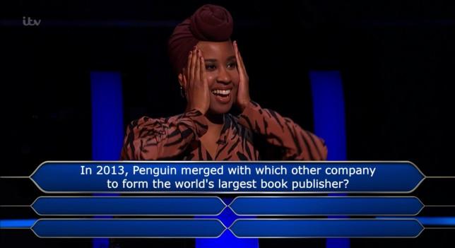 Mainga Bhima on Who Wants To Be A Millionaire?