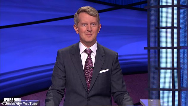 A true honor: Jennings had the honor of being the first person to step behind the podium and microphone and serve as guest host of Jeopardy! in the wake of Trebek's passing