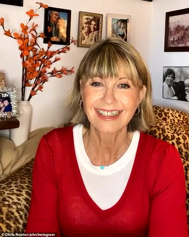 'Feeling great!'The Grease star has had metastatic breast cancer three times, having battled the disease previously in 1992 and 2013