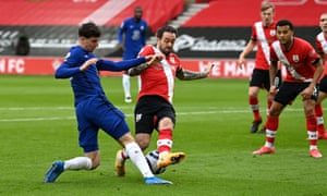 Danny Ings with a strikers challenge.