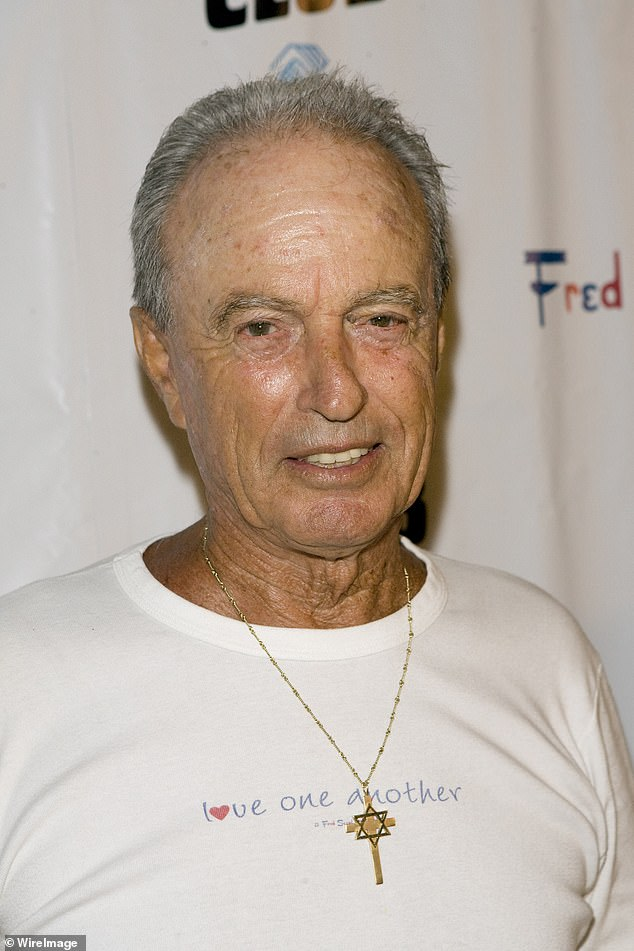 'In 1961, Fred Segal created a retail scene that defined Los Angeles fashion and sparked a revolutionary shift in style that has transcended the last six decades,' a statement read; Fred seen here at a private charity event in 2009