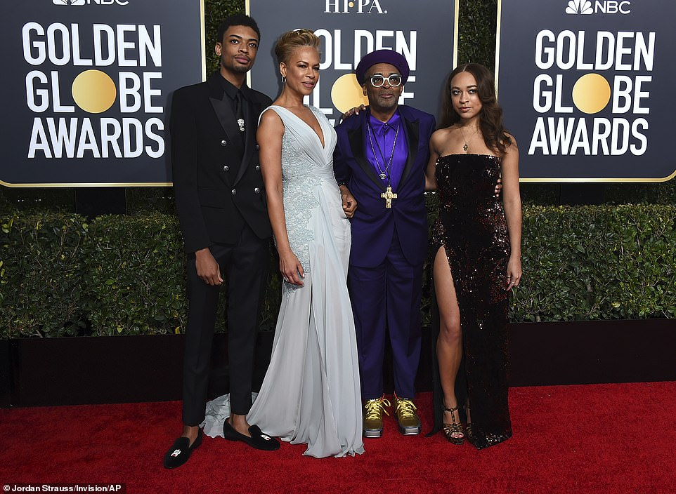 Role:Satchel and Jackson Lee, children of Spike Lee and producer/philanthropist Tonya Lewis Lee, will serve as the 2021 Golden Globe Ambassadors