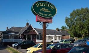 The Schooner Harvester Inn in Penarth