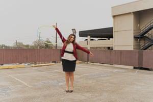 Caliana Munoz photographed in Metairie, Louisiana on February 10, 2021.