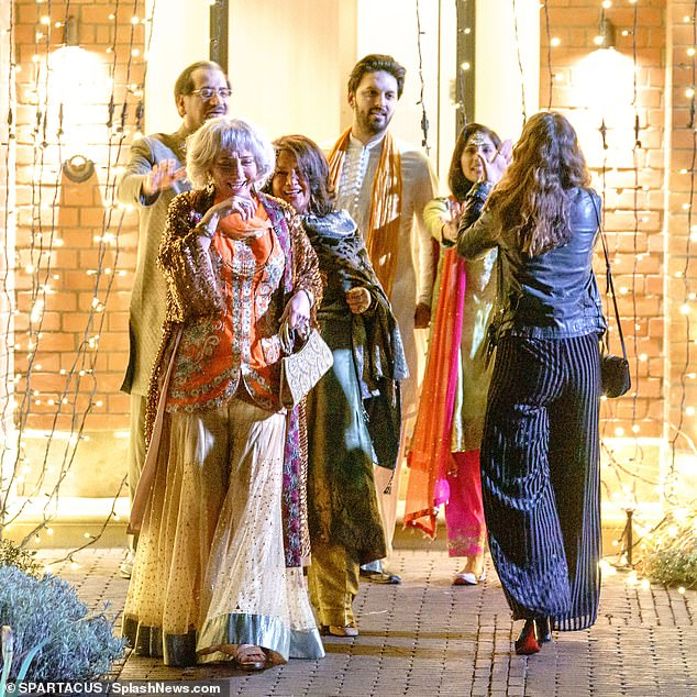In the film, written by Jemima Khan, ex-wife of cricketer and Pakistan premier Imran Khan, Dame Emma plays Cath, the opinionated mother of Ms James's character Zoe, who has fallen in love with childhood friend Kazim