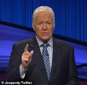 Icon: Alex Trebek recorded his final episode of Jeopardy! 10 days before his death