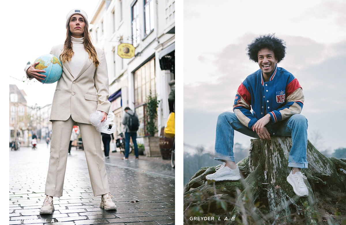 Dutch sustainable brand GREYDER L A B launches the future of footwear fashion