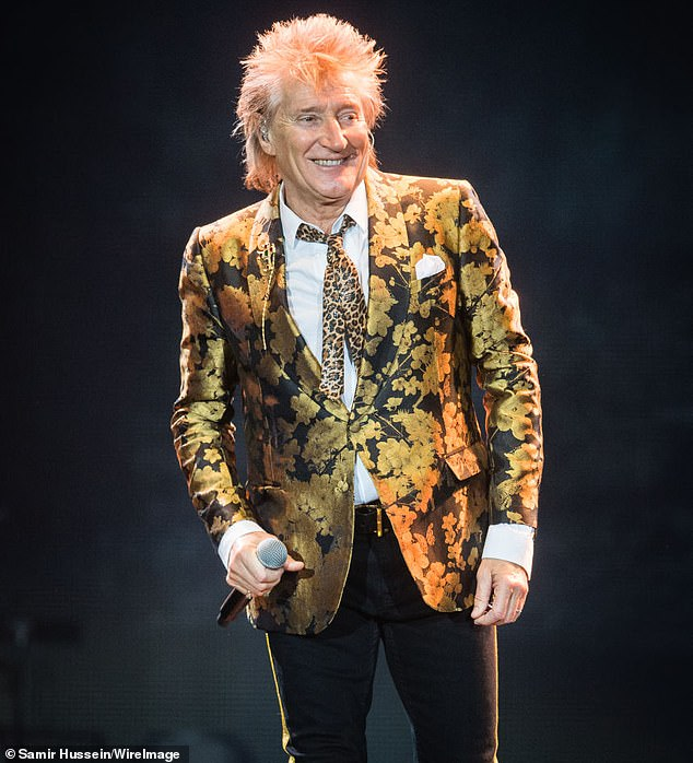 Health kick! Meanwhile, it's recently been revealed that Rod has cut back on his alcohol consumption and taken up boxing after embarking on a lifestyle overhaul following a recent knee and ankle procedure