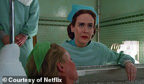 Spooky: Sarah Paulson is up for Best Performance by an Actress in a TV Series, Drama for Ratched