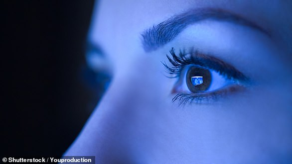 Blue Light can make it harder to fall asleep and have an impact on the health of eyes