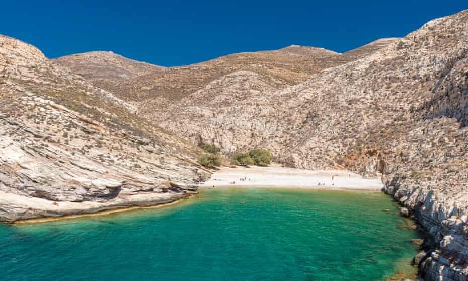 The tiny Greek island of Folegandros