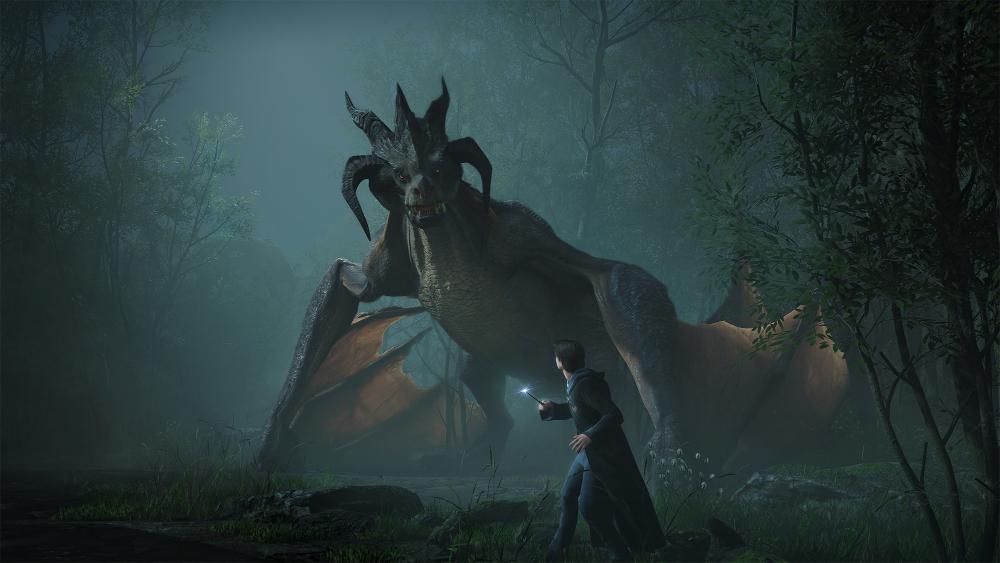 Hogwarts Legacy shows off its incredible art in teaser stills.