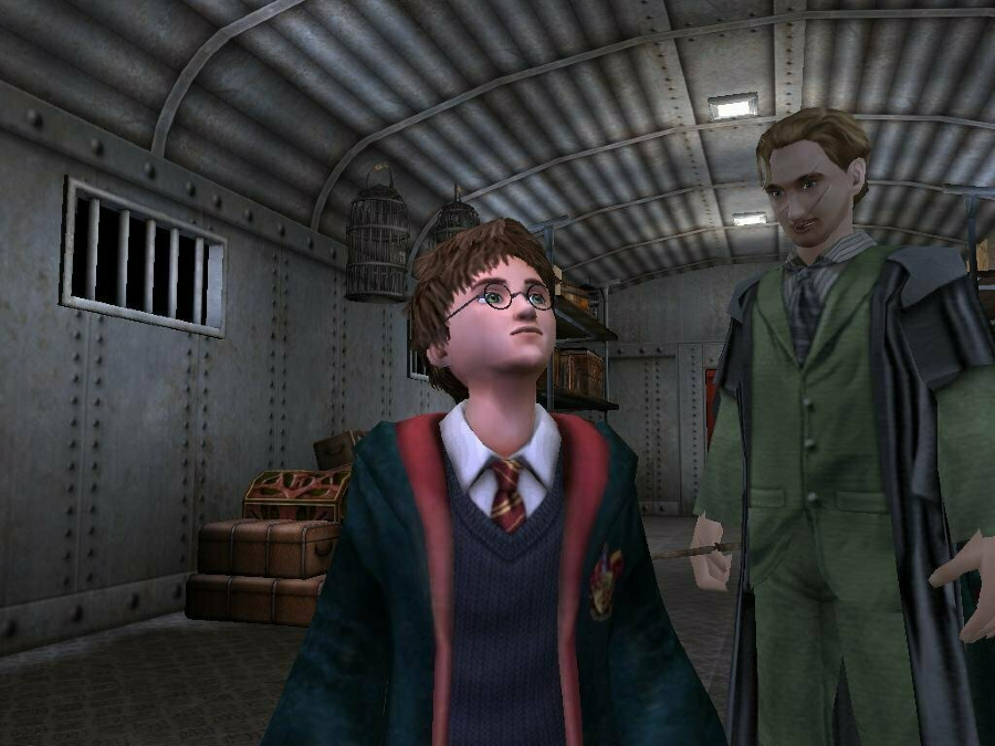 """""""Harry Potter and the Prisoner of Azkaban"""" was the third game of the series."""