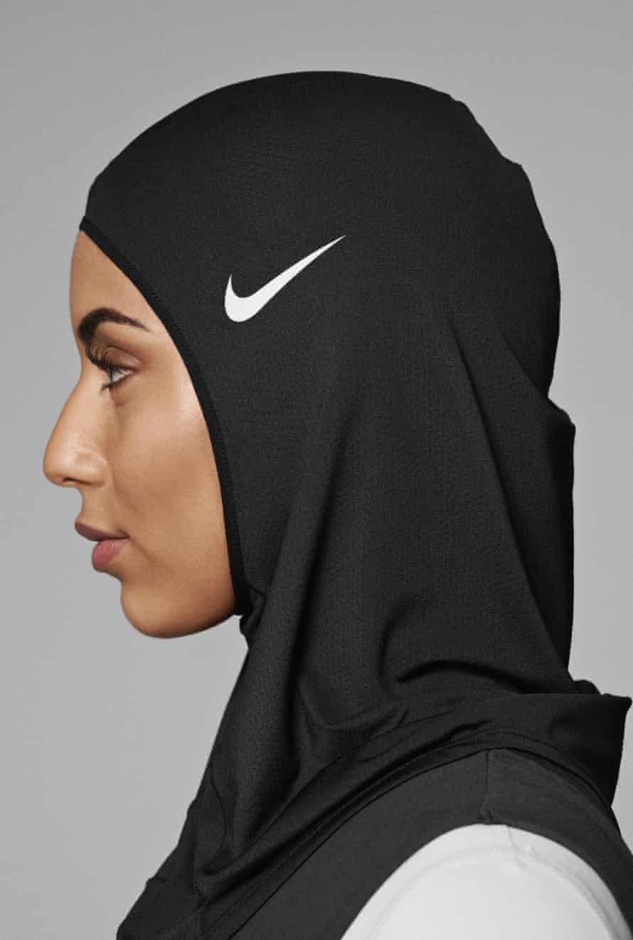 Nike's Pro Hijab, designed for Muslim athletes