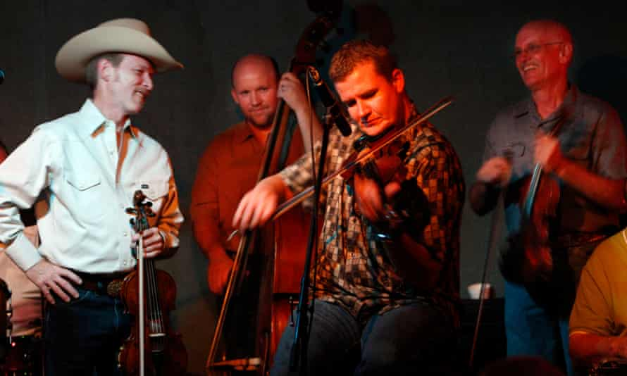 The Time Jumpers perform at the Station Inn in Nashville, US.