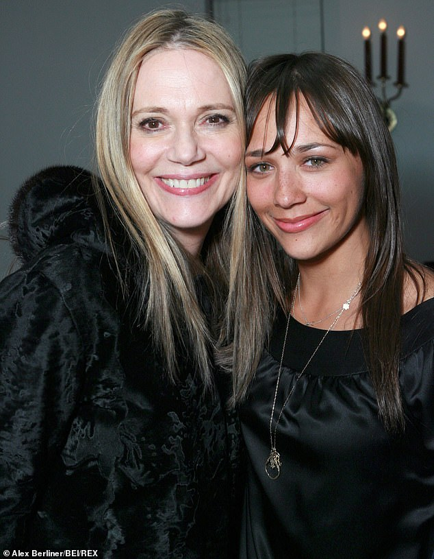 Close bond: The 44-year-old actress, shown with her mother in January 2007 in Los Angeles, earlier this month told NPR that she nearly turned down the role in On The Rocks following Lipton's death from cancer in May 2019