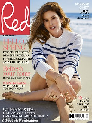 For more: Read the full interview in the March issue of Red, on sale February 4