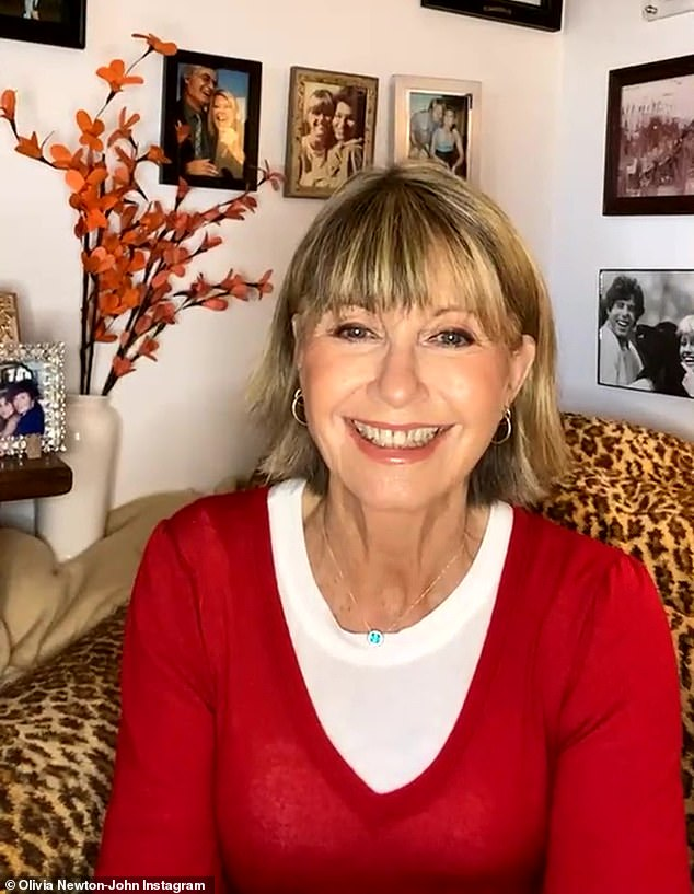 'Not at this point, no':The Very Excellent Mr. Dundee actress last made headlines on Sunday when she told The Herald Sun that she would not be taking the coronavirus vaccine