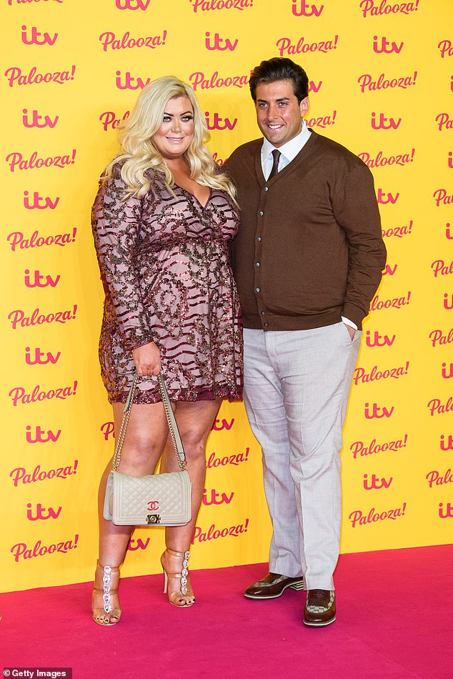 Back together:She and her former TOWIE co-star, 33, who has candidly spoken about his drug addiction in the past, are thought to have rekindled their romance in recent weeks after an explosive public split last year