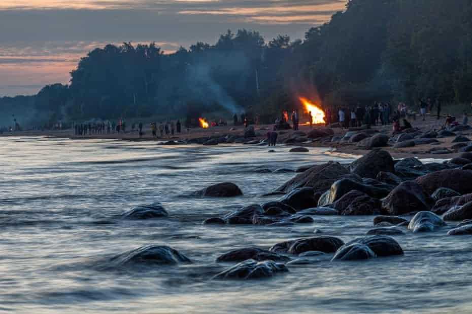 Estonia's summer solstice