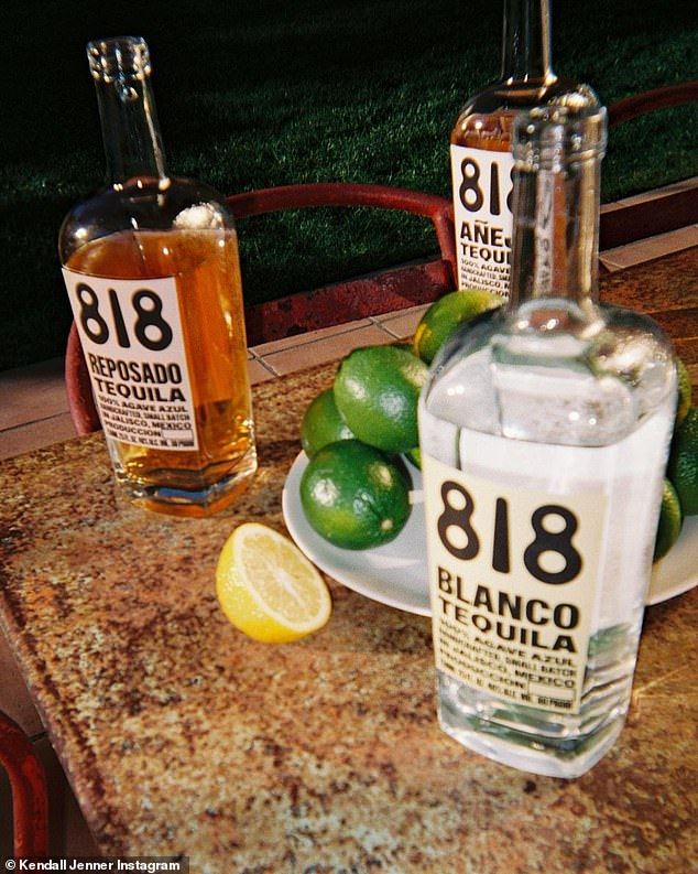 Classic trio: 818 appears to come in a Blanco, Añejo and Reposado varieties