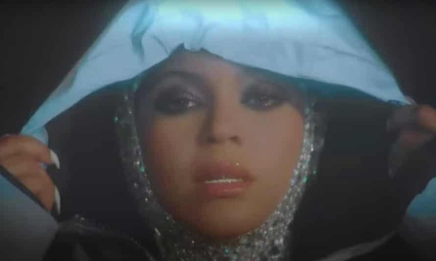 Beyoncé's bejewelled in the Ivy Park ad