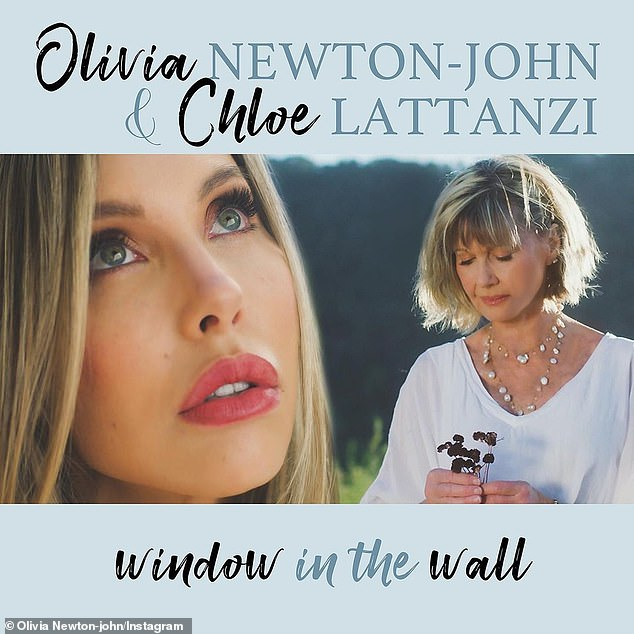 'I was flattered and honored!' On January 21, the mother-daughter duo dropped a duet called Window in the Wall, which which will be featured on Olivia's upcoming duets album